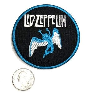 Accessories - Led Zeppelin patch iron on band badge 70s music